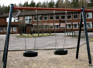 Riddarhyttans skola.Foto: Nils-Olof Strandberg