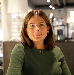 Julia Schiller jobbar på Öberg i Västerås.