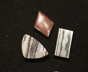 Några blodstenar från David Olsons samlingar.