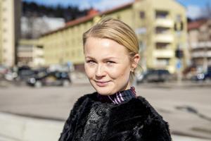 Linn Karlsson, 23 år, administratör, Sundsvall.