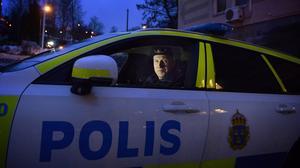Polisinspektör Mikael Edström blir snart trafikansvarig i Södra Ångermanland.