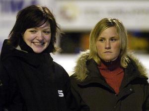 Emma Kronberg och Johanna Pettersson blev något av ett radarpar i SAIK. När Kronberg sedan bytte klubb ställde hon till det för sin tidigare lagkamrat. Bild: Mittmedia arkiv