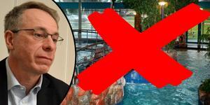 Maserhallens simhall och Aqua Nova har stängt på grund av en vattenläcka. Vd Jörg Bassek berättar att man idag har beslutat att hålla stängt till åtminstone onsdag.