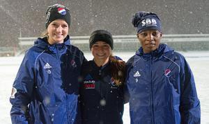 Chestley Strother, Jessica Nakae och Sabinah Thom är Kvarnsvedens senaste tillskott.