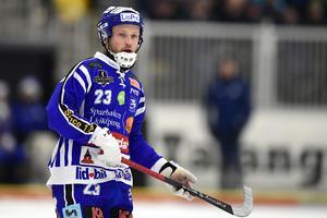 Johan Löfstedt noterades för två målgivande passningar på söndagen. Bild: Mikael Fritzon / TT