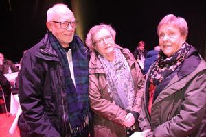 Göran Olsson, Lena Erdeth och Lili-Ann Bivall Olsson berättar att de försöker gå på så mycket evenemang de kan, när det anordnas något.