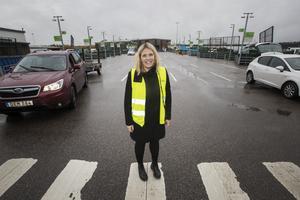 Anna-Karin Karlsson är sedan i våras  ny förbundsdirektör för Gästrike återvinnare.