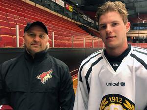 Brett Stewart huvudansvarig för Arizonas scouting och spelarutveckling i Europa tillsammans med Victor Söderström.