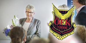 Maj-Britt Ringvall lämnar ÖFK:s styrelse.
