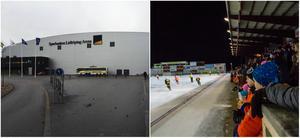 Sparbanken Lidköping Arena och Sävstaås IP i Bollnäs.