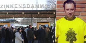 Daniel Johansson, som tidigare har varit klubbchef i Peace & Love City, är ny klubbchef i AIK. Bild: Peter Axman / AIK Bandy