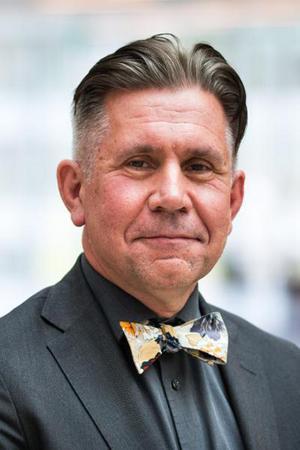 Dalarnas första Vi i femman-vinnare, professor Johan Tysk från Falun. Foto: Uppsala Universitet