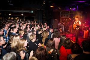 Runt 600 personer slöt upp till fredagens konsert.