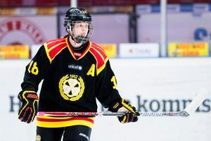 Denna säsong har Anna Borgqvist fått dra ett stort lass i Brynäs som haft spelarbrist. Hon har spelat i Gävleklubben sedan 2011. Foto: Andreas Sandstršm / BILDBYRÅN.