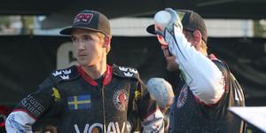 Indianernas reservpar Joel Andersson och Ludvig Lindgren vann reservkampen mot Anton Karlsson och Mikkel B Jensen med 8–5.