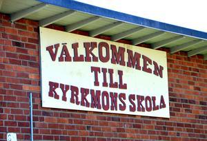 Kyrkmons skola får ett mindre upptagningsområde.