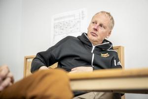 Niclas Lidström är inställd på att överklagandenämnden kommer att ändra sig och ge Östersunds FK elitlicens för 2020. Foto: TT/Per Danielsson