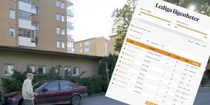 Den särskilda kön till lägenheterna på Balder har avskaffats. Foto: NP/arkiv