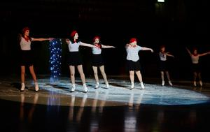 Både barn och ungdomar deltog i showen.