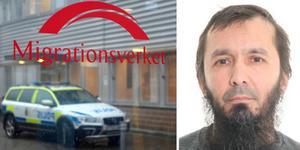 Att David Idrisson friades i hovrätten är ett av skälen till att advokaten Isak Åberg tycker att Migrationsverkets beslut är felaktigt. Fotomontage: Genrebild från TT/Polisen