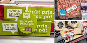Varje invånare i Dalarna räddade under 2019 i snitt cirka 0,58 mat från att bli till svinn. Bilden är ett montage.