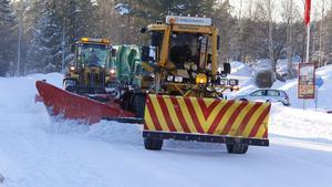 Berglundavägen i Sörberge blir ofta spårig är prioriteras därför högt.