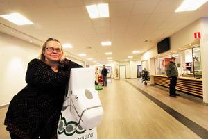 Anette Falk är kulturkonsulent på Hedemora kommun. Tillsammans med kulturenheten håller hon just nu på att planera hur de 75 000 kronorna, som kommunen fått från Statens kulturråd, ska användas.