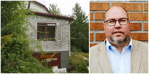 Bengt Andersson besökte Älgbostad för att själv bilda sig en uppfattning om gårdens skick. Nu ska Nybo åtgärda de mest uppenbara problemen.