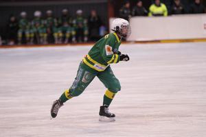 Malin Andersson stod för sex assist i matchen mot Skirö.