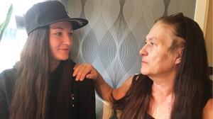 My Eriksson har startat en insamling för att hennes  mamma Annelie Eriksson ska kunna bli fri från sin cancer.