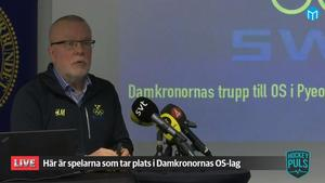 Leif Boork under presskonferensen i Stockholm. Bild: Mittmedia.