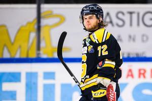 Nicolai Meyer avgjorde när SSK slog Karlskrona i december. Foto: Simon Hastegård/Bildbyrån.