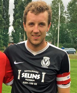 Andreas Olars, Vansbro AIK:s lagkapten.