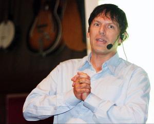 Stefan Karlsson berättade om sin väg från skolfik till hotellimperium.