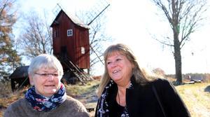 Britt Andersson och Marie-Louise Pettersson.
