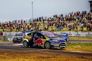 Årets rallycrossäsong avslutades i Kapstaden. Foto: RX2