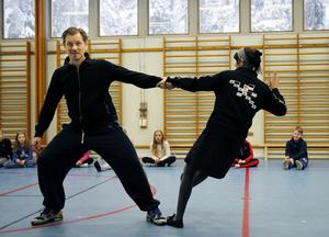 Foto: Leif Gustavsson Dans med Mattias och Hanna Lundmark har funnits med bland projekten inom Skapande skola.