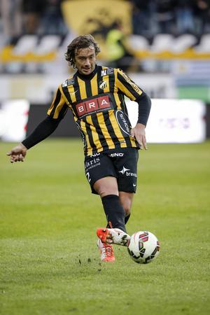 Diego Lugano i Häckens tröja.