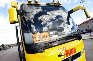 Även Y-buss märker att fler vill resa till Norrland och Sundsvall från Stockholm i Sundsvall.