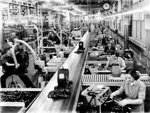 Många västeråsare arbetade på Asea. Foto: VLT