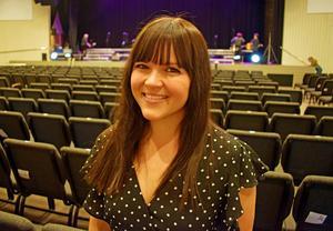 Anna Palmér är körledare för Pop- och rockkören i Falun.