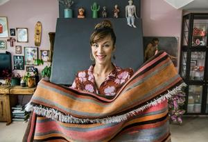 Inredaren Isabelle McAllister älskar färg och smutsiga pasteller är en favorit: