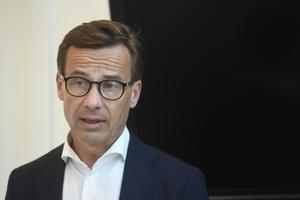 Har en annan lösning på problemet. M-ledaren Ulf Kristersson. Foto: Fredrik Sandberg / TT