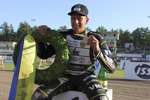 År 2016 tog Andreas Jonsson dubbla SM-guld.