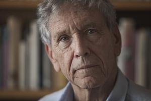 Författaren Amos Oz. Foto: Dan Balilty