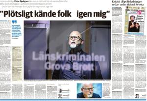 Uppslag från tidningarna i Dalarna  den 6 januari 2018.