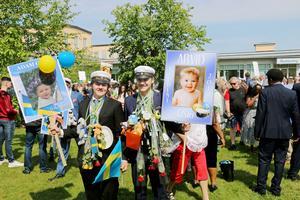 Utspring studenten på Göranssonska skolan i Sandviken
