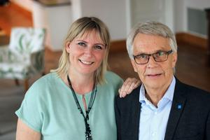 Pressbild Kristdemokraterna. Marlene Jörhag och Lennart Bondeson.
