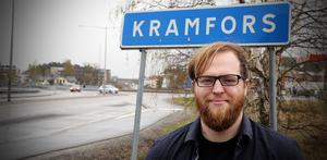 Max Phelan, irländare som flyttat till sin mammas hemland, Sverige – och jobbar som ingenjör i Kramfors.