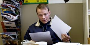 Per Fimmerstad driver Taxinge gods sedan länge. Nu blir han av med delar av jordbruksmarken. Foto: LT:s arkiv